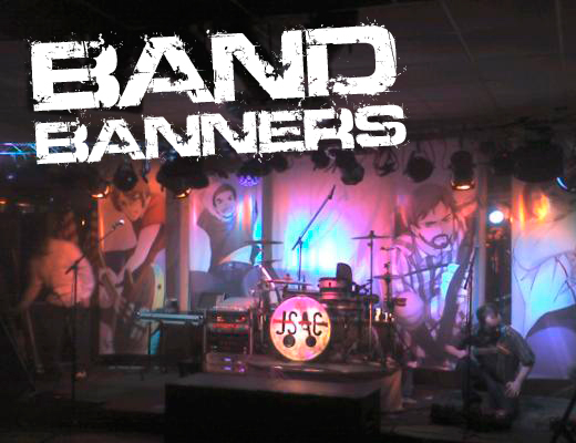 band banners