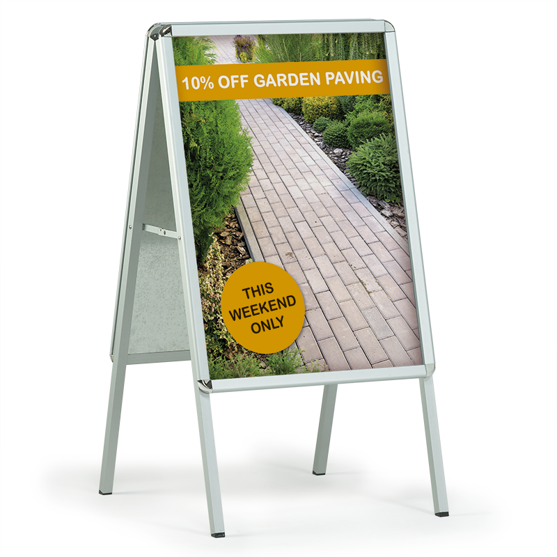 A1 A-Board with waterproof posters