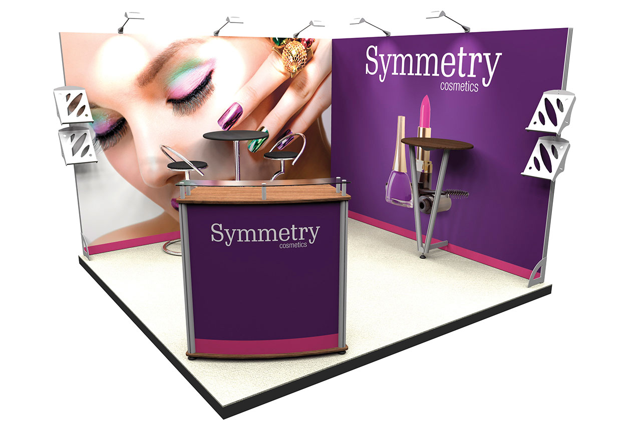 Exhibition Display Stand : Why use exhibition stands banner printing android