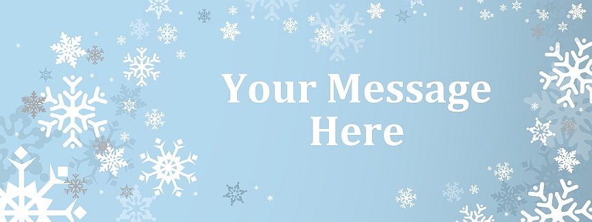 christmas party banners