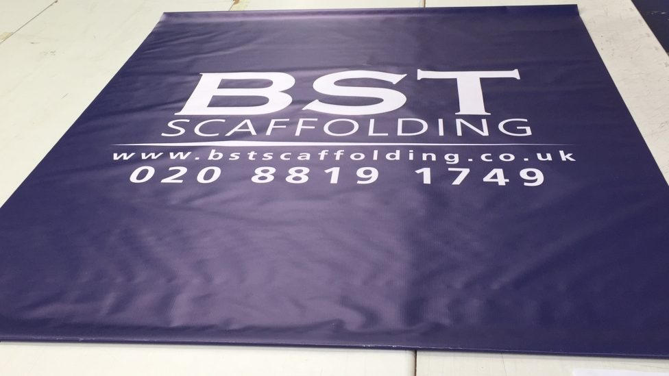 banners for scaffolding