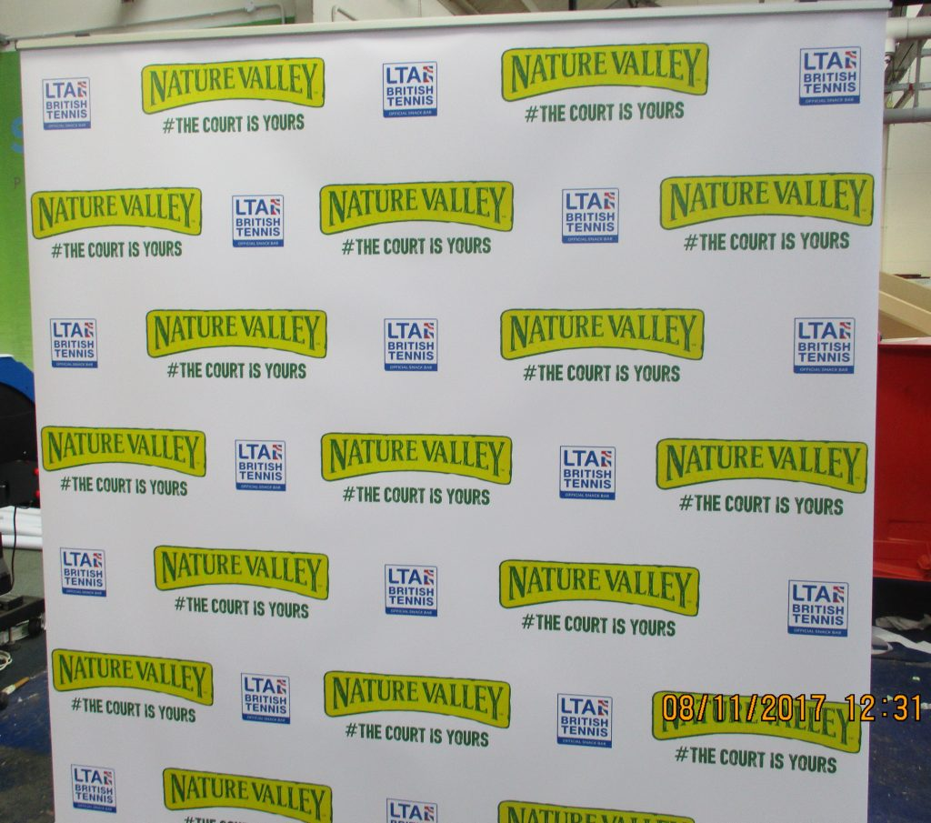 press conference  banner