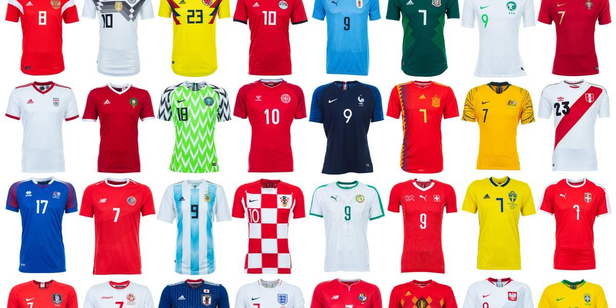 World Cup Kits 2018