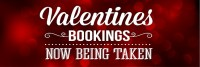 Valentines Bookings Banner