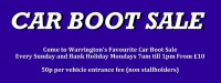 Car Boot Sale Banner