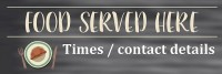 Food Served Here Banner