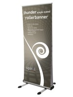Thunder single sided roller banner