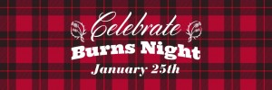 Burns Night Banner