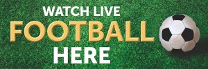Live Football Here Banner