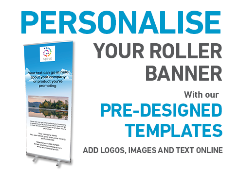 Personalise your Roller Banner